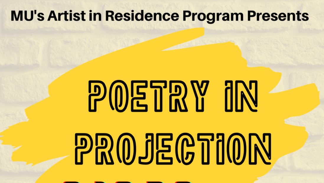 Poetry in Projection Flyer (excerpt)